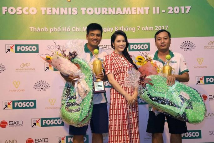 Lý Nhã Kỳ đồng hành cùng Giải Quần vợt FOSCO 2017  - Ảnh 1.