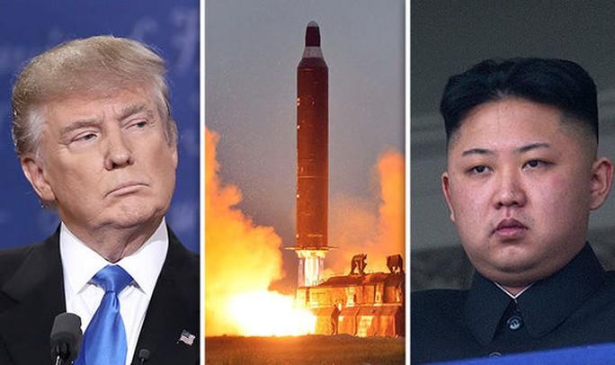 Tổng thống Donald Trump sẽ dùng cách gì đối phó Triều Tiên? Ảnh: World Tribune