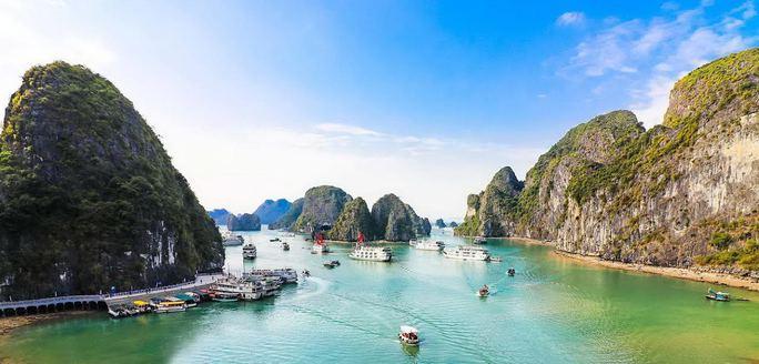 Vịnh Hạ Long là một trong những địa điểm nổi tiếng xuất hiện trong phim Kong
