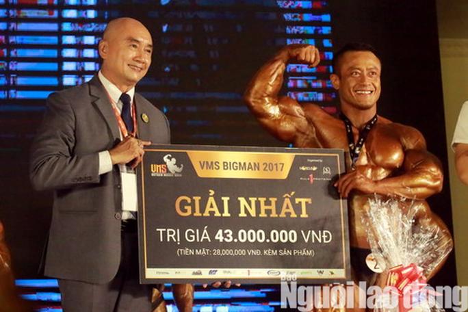 VMS Big Man: Giải thưởng siêu khủng, lực sĩ siêu nặng - Ảnh 13.