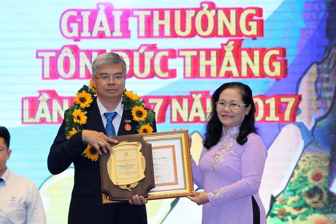 Trao giải thưởng Tôn Đức Thắng cho 10 kỹ sư, công nhân tiêu biểu - Ảnh 4.