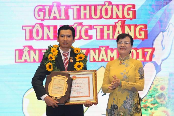 Trao giải thưởng Tôn Đức Thắng cho 10 kỹ sư, công nhân tiêu biểu - Ảnh 3.