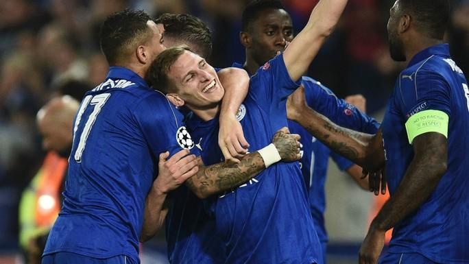 Leicester đang thể hiện phong độ khó tin ở Champions League