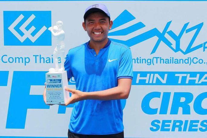Lý Hoàng Nam vươn lên hạng 457 ATP - Ảnh 1.