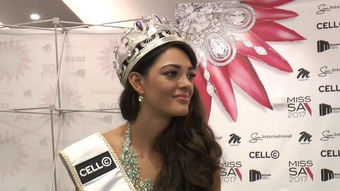 Nam Phi đăng quang Hoa hậu Hoàn vũ 2017 - Ảnh 1.