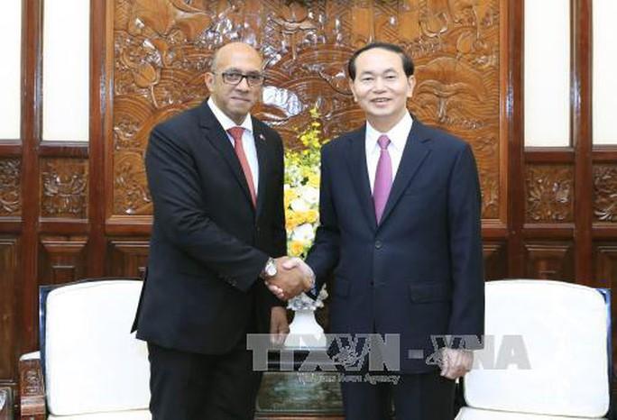 Chủ tịch nước Trần Đại Quang tiếp Đại sứ Cuba - Ảnh 1.