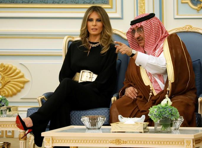 Vợ con Tổng thống Trump quyến rũ Ả Rập Saudi - Ảnh 3.
