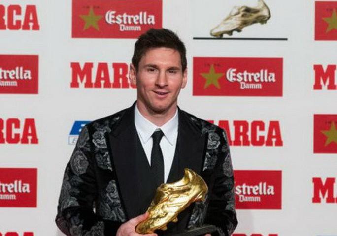 Messi lần thứ 4 đoạt Chiếc giày vàng châu Âu - Ảnh 2.