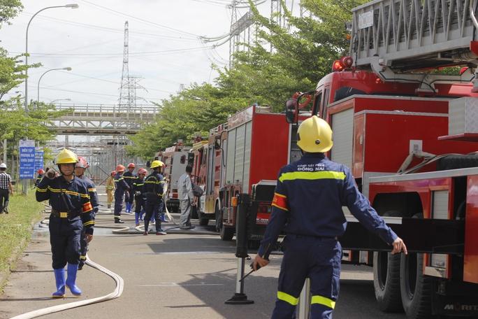 3 tỉnh, thành diễn tập chữa cháy tại Nhiệt điện Phú Mỹ - Ảnh 12.
