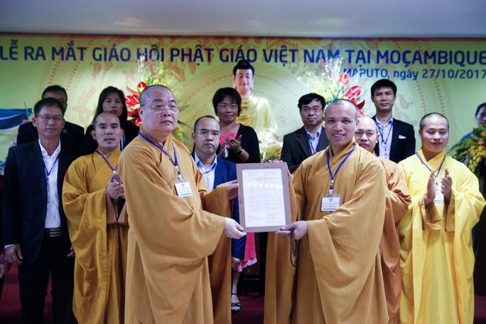 Lập Trung tâm đầu tiên của Phật giáo Việt Nam tại châu Phi - Ảnh 3.