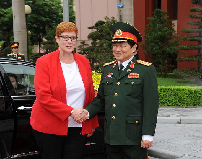 Úc tái khẳng định quan hệ hợp tác quốc phòng với Việt Nam - Ảnh 1.