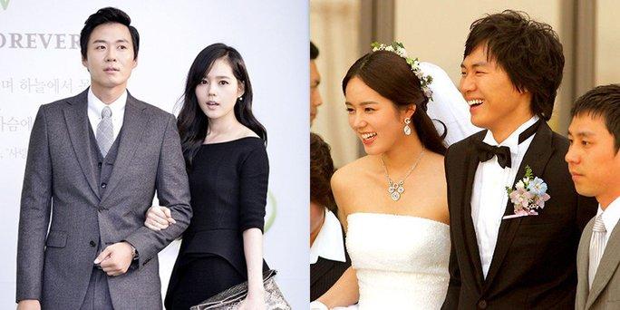 Những cặp đôi phim giả tình thật nổi tiếng Hàn Quốc - Ảnh 2.