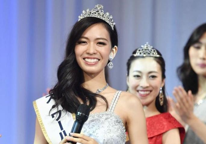 Cận cảnh vẻ đẹp tân Hoa hậu Thế giới Nhật Bản - Ảnh 1.