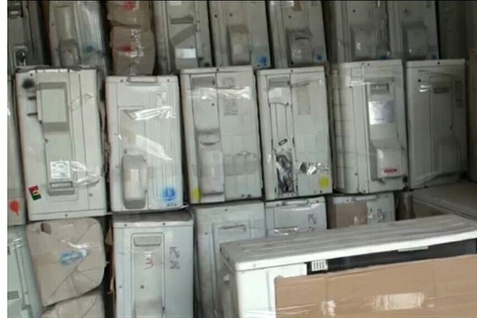 Ráo riết truy tìm chủ lô hàng máy lạnh ở Sài Gòn - Ảnh 1.