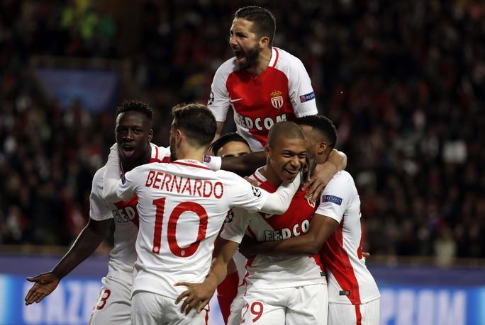Monaco là hiện tượng lớn nhất của Champions League mùa này.Ảnh: REUTERS