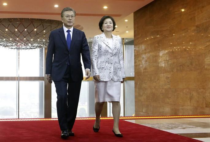 Vì Triều Tiên, tân tổng thống Hàn Quốc đụng ông Trump? - Ảnh 1.