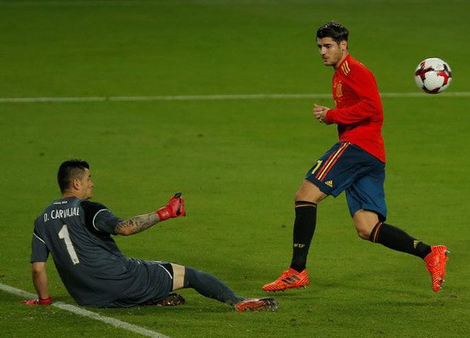 Dàn sao Argentina, Tây Ban Nha tỏa sáng loạt trận giao hữu - Ảnh 7.