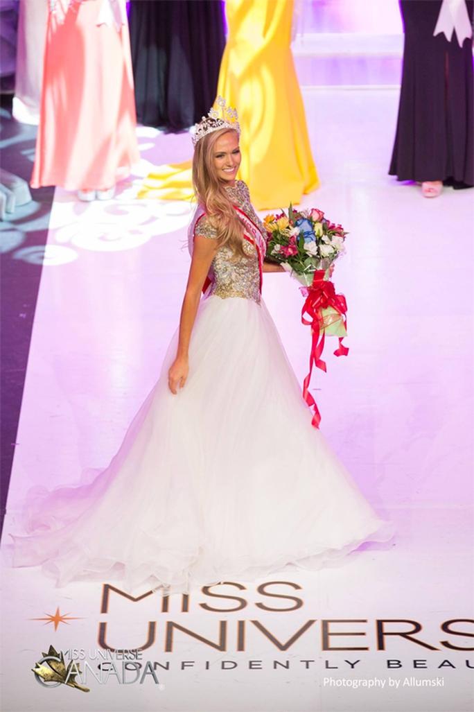 Ngắm nhan sắc tân Hoa hậu Hoàn vũ Canada - Ảnh 1.