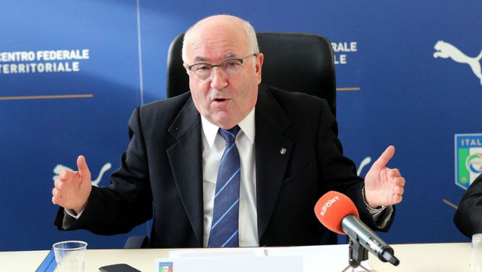 Chủ tịch LĐBĐ Ý từ chức sau khi mất vé World Cup - Ảnh 1.