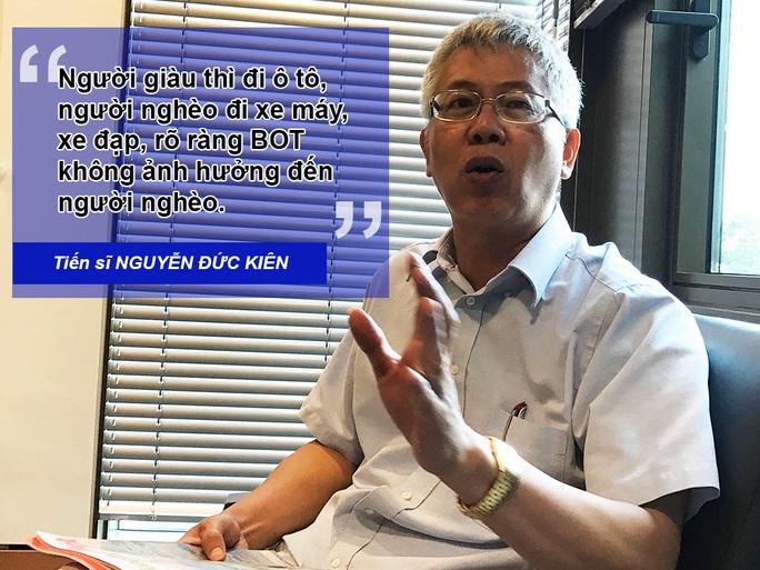 Ông Nguyễn Đức Kiên: BOT tốt, doanh nghiệp vận tải chơi xấu - Ảnh 1.