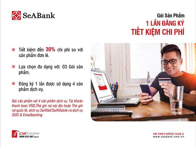 SeABank ra mắt gói sản phẩm tiện ích cho khách hàng - Ảnh 1.