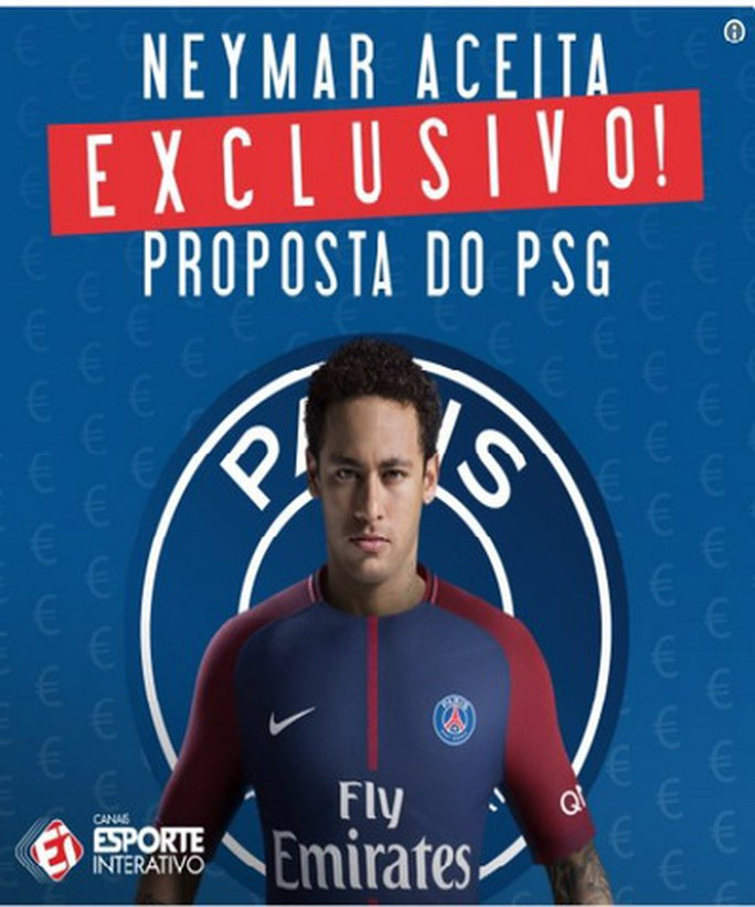 Paris Saint-Germain sẵn sàng đốt tiền vì Neymar - Ảnh 3.