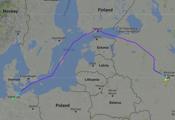 Lý do máy bay chở ông Putin đến G20 bay đường vòng - Ảnh 1.