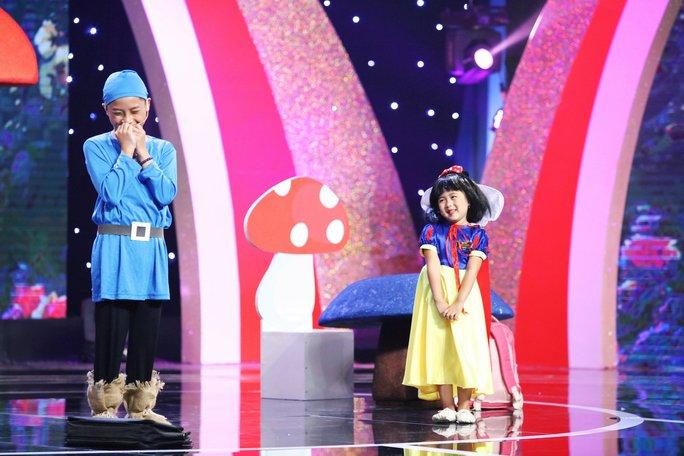 Những vai diễn cực đáng yêu của cô bé 5 tuổi Ngân Chi - Ảnh 3.