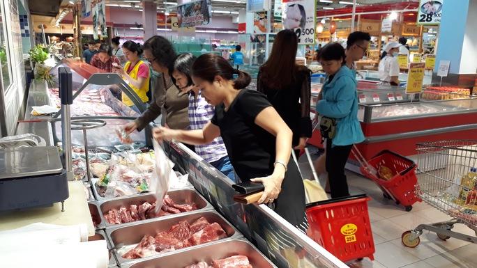 Big C kỳ vọng sẽ tiêu thụ thêm khoảng trên 50 tấn thịt heo sau 1 tuần áp dụng khuyến mãi giảm giá 20% - 30%