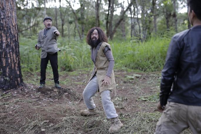Phim được cảm hứng từ câu chuyện người rừng được tìm thấy ở Việt Nam