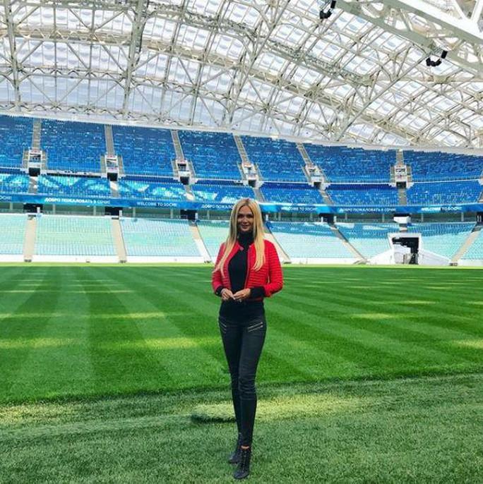 Hoa hậu Nga trấn an fan trước thềm World Cup - Ảnh 2.