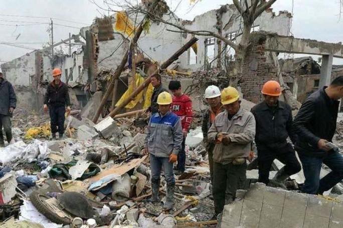 Nổ nhà máy chấn động Trung Quốc - Ảnh 2.