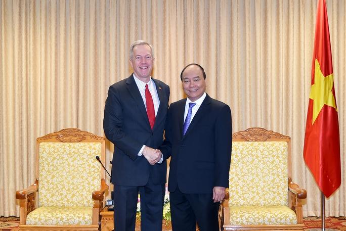 Thủ tướng hoan nghênh chuyến thăm của Tổng thống Donald Trump - Ảnh 1.