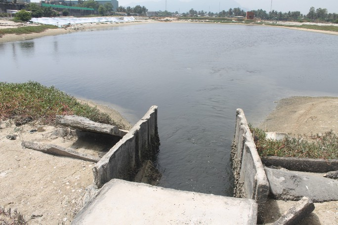 Nước thải chảy vào khu vực nuôi trồng thủy sản của người dân làm thiệt hại hàng tỷ đồng