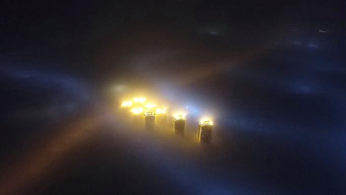 Không khí ô nhiễm từ Trung Quốc lây lan - Ảnh 1.