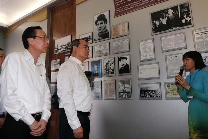 Chuyến thăm đầu tiên của tân Bí thư Thành ủy TP HCM - Ảnh 2.