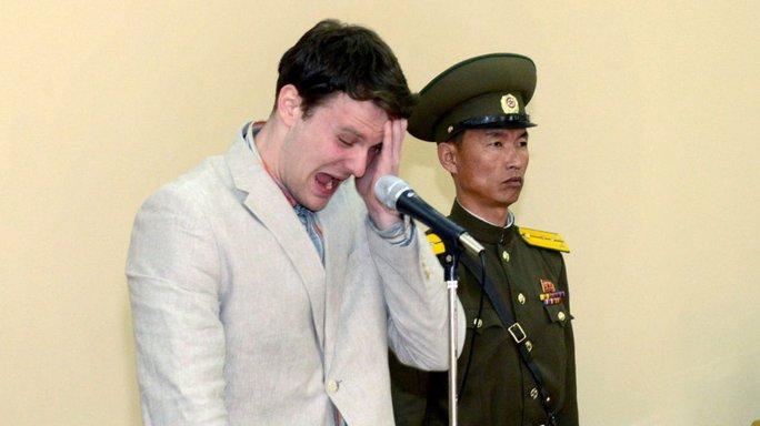 Triều Tiên lần đầu lên tiếng về sinh viên Mỹ Otto Warmbier - Ảnh 1.