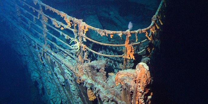 Tàn tích còn lại của tàu Titanic sắp biến mất mãi mãi. Ảnh: NOAA
