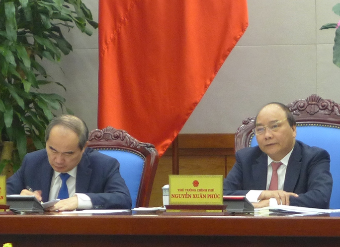 Thủ tướng Nguyễn Xuân Phúc cho rằng phong trào thi đua - khen thưởng với gắn chặt với tình hình đất nước - Ảnh: Thế Dũng