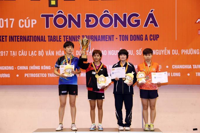 Bóng bàn nữ Thái Lan thắng lớn ở Giải Cây vợt vàng 2017 - Ảnh 2.