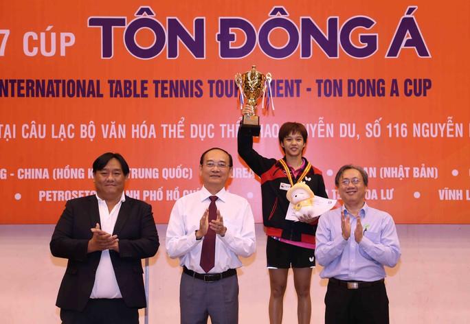 Bóng bàn nữ Thái Lan thắng lớn ở Giải Cây vợt vàng 2017 - Ảnh 1.