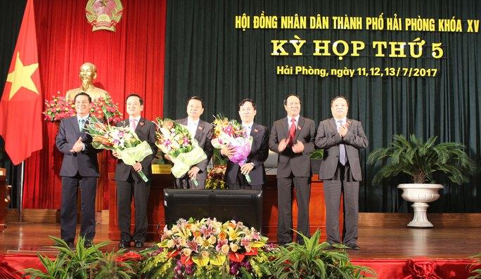 TP Hải Phòng có thêm 2 Phó chủ tịch - Ảnh 1.