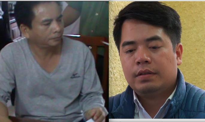 Đối tượng Bùi Hiếu Võ (trái) và Phan Kim Khánh (phải) - Ảnh: Cơ quan điều tra cung cấp