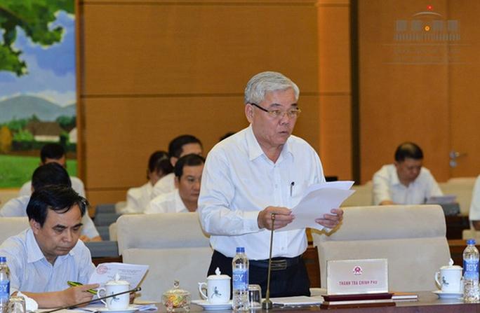 Trình miễn nhiệm Tổng TTCP Phan Văn Sáu và Bộ trưởng GTVT Trương Quang Nghĩa - Ảnh 1.