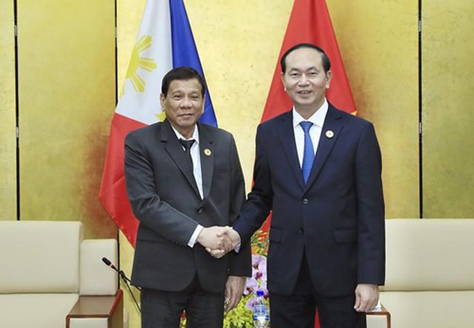 Chủ tịch nước gặp Tổng thống Philippines - Ảnh 1.