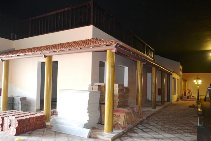 Công trình xây dựng trái phép ở đường Phạm Hùng có 5 người Trung Quốc bên trong đã bị đình chỉ thi công
