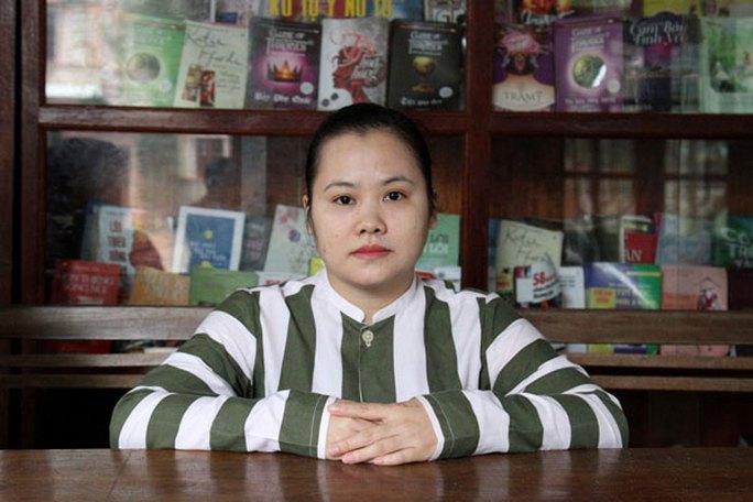 Phạm nhân Nguyễn Thị Mỹ Dung.