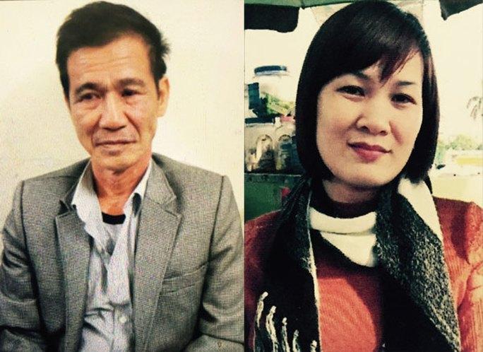 Nguyễn Hoài Thanh và Lê Thị Thu Hiền.