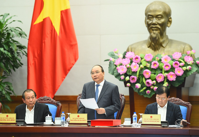 Thủ tướng thống nhất với đề xuất cơ chế đặc thù để TP HCM chống ùn tắc giao thông - Ảnh: Quang Hiếu