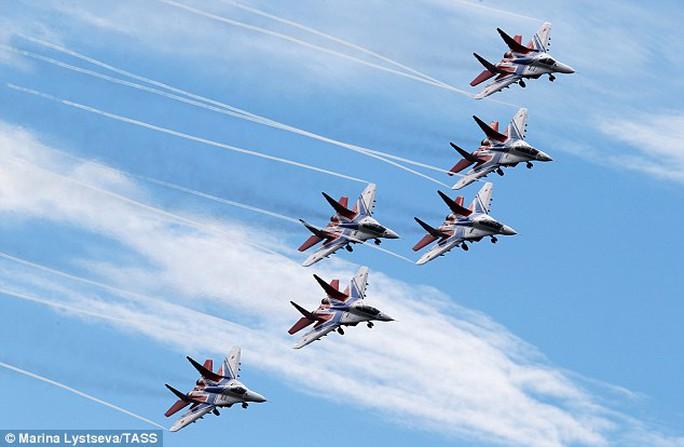 Máy bay quân sự Nga. Ảnh: TASS